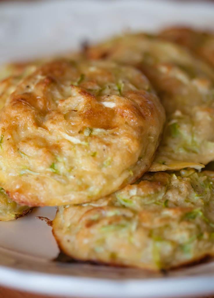 Kabaču siera pankūkas - kumosiņi, low GI recepte